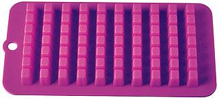Форма силиконовая для льда Кубики Regent inox 93-SI-FO-16.7 21x11x2 смБарные принадлежности<br><br>