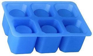 Форма силиконовая для ледяных стопок Regent inox 93-SI-FO-31 16x11x5 см 30 млБарные принадлежности<br><br>