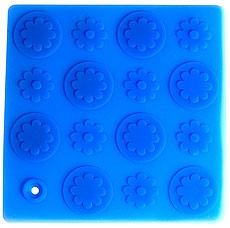 Прихватка-подставка под горячее Цветы Regent inox 93-SI-CU-04.2 18x18 смРазное<br><br>