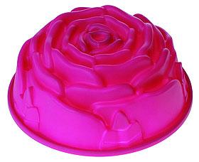 Форма силиконовая Роза Regent inox 93-Si-FO-13 23,5x9,5 смТовары для выпечки<br><br>