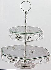 Ваза Rosenberg 3223 2-яруснаяСервировка стола<br><br>