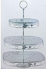 Ваза Rosenberg 3325 3-яруснаяСервировка стола<br><br>