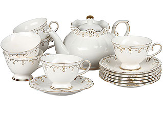 Чайный набор Rosenberg 8700 13 пр (200мл)Сервировка стола<br><br>