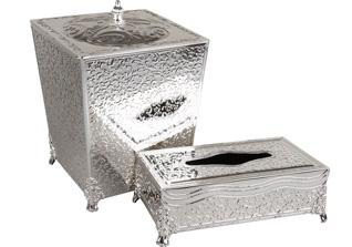 Корзина для мусора и подставка для салфеток Rosenberg S-2291Сервировка стола<br><br>