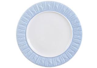 Тарелка Rosenberg 1002 21см, голубаяСервировка стола<br><br>