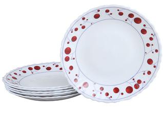 Набор суповых тарелок Rosenberg 1226-496 20смСервировка стола<br><br>