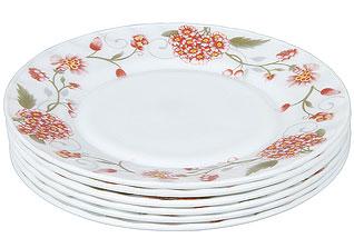 Набор суповых тарелок Rosenberg 1228-641 (8) 21смСервировка стола<br><br>