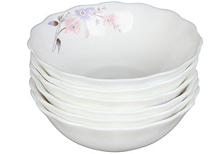 Набор суповых тарелок Rosenberg 1253-4 13смСервировка стола<br><br>