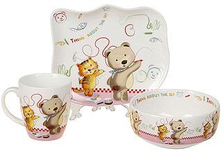 Набор детской посуды Rosenberg 8779Сервировка стола<br><br>