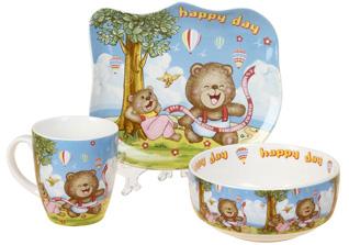 Набор детской посуды Rosenberg 8785Сервировка стола<br><br>