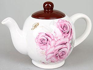 Чайник заварочный Rosenberg 8057-5 (роза)Заварочные чайники<br><br>