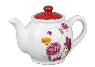 Чайник заварочный Rosenberg 8058-12 (гвоздика)Заварочные чайники<br><br>