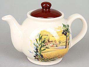 Чайник заварочный Rosenberg 8058-4 (подсолнухи)Заварочные чайники<br><br>