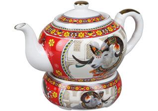 Чайник с подогревом Rosenberg 8063Заварочные чайники<br><br>