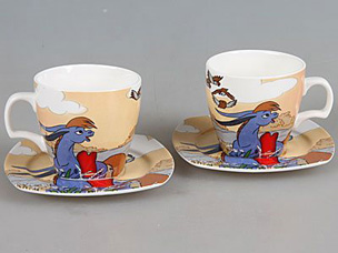 Чайный набор Rosenberg 8688 4 прСервировка стола<br><br>