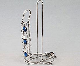 Подставка под бумажное полотенце Rosenberg 7710-B синий каменьСервировка стола<br><br>