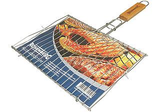 Решётка-гриль для рыбы средняя Rosenberg RUS-440001-M 33,8х25 смШашлык, барбекю<br><br>