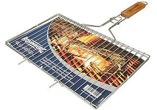 Решётка-гриль для мяса большая Rosenberg RUS-440003-L 42х25 смШашлык, барбекю<br><br>