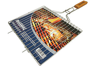 Решётка-гриль для мяса средняя Rosenberg RUS-440003-M 34х28,6 смШашлык, барбекю<br><br>