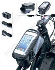 Сумка велосипедная объемом 1,2 л. с синим элементом Bradex SF 0158Велоаксессуары<br><br>