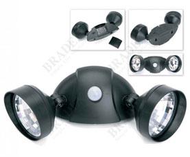 Портативный светильник с двумя спотами и датчиком движения Bradex TD 0403Светильники<br><br>