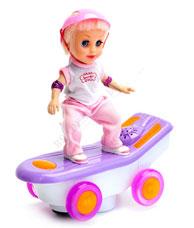Кукла-скейтбордистка Молли Bradex DE 0164игрушки<br><br>