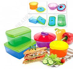 Набор контейнеров с охлаждающим элементом Bradex TK 0204Хранение продуктов<br><br>