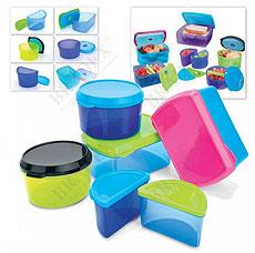Набор контейнеров с охлаждающим элементом Bradex TK 0205Хранение продуктов<br><br>