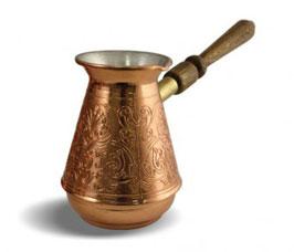 Кофеварка медная 0,37л с/р Турчанка Tima ТУ-370сЗаварочные чайники<br><br>