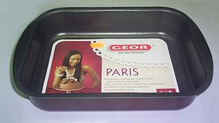 Форма для выпечки прямоугольная Geor 5067008Формы для выпечки тефлон<br><br>