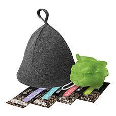 Набор банных принадлежностей Банные штучки 34216 (шапка, мочалка, бальзам, шампунь, гель, мыло)Все для бани<br><br>