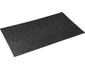 Коврик придверный Vortex 22461 35x60 см, черный, УзорВсе для бани<br><br>