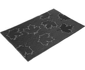 Коврик придверный Vortex 22463 40x60 см, черный, КленВсе для бани<br><br>