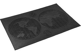 Коврик придверный Vortex 22459 40x60 см, черный, КонтинентыВсе для бани<br><br>