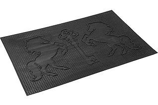 Коврик придверный Vortex 22460 40x60 см, черный, КлючВсе для бани<br><br>