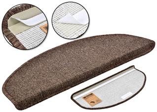 Коврик на ступеньку Vortex 27002 25x65 см, темно-коричневыйВсе для бани<br><br>