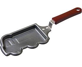 Мини-сковорода Marmiton 17086 Машинка с антипригарным покрытием 9x28 смСковороды антипригарные<br><br>