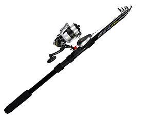 Набор для рыбалки, удочка Boyscout 61802 (Спиннинг 2,7 м, катушка с леской, 4 блесны, 2 поводка)Для рыбалки<br><br>