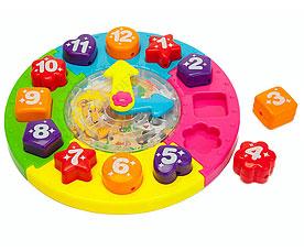 Часы сортер-паззл с лабиринтом Учимся играя Bradex DE 0157для самых маленьких<br><br>