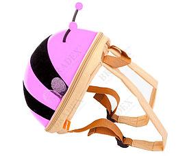 Ранец детский Пчёлка сиреневый Bradex DE 0185игрушки<br><br>