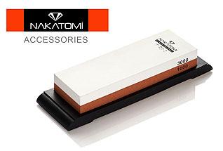 Камень точильный Nakatomi водный комбинированный 1000/3000 BN 1300/MНожи<br><br>