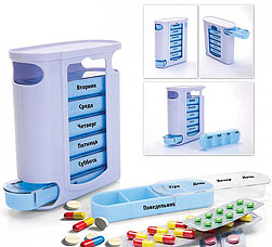 Контейнер для таблеток Неделька Bradex KZ 0346Полезные вещи для дома<br><br>