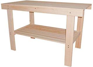 Стол с полкой 100x73x63см шлифованный Банные штучки 32437Все для бани<br><br>