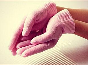 Увлажняющие перчатки с гелевой пропиткой SWEETY Gess 055SPA-уход<br><br>