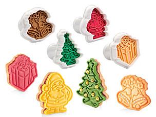 Формочки с печатью для печенья Delicia, 4 шт., рождественские Tescoma 630857Выпечка<br><br>