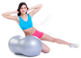Мяч для фитнеса Фитбол-арахис Bradex SF 0171Товары для фитнеса<br><br>