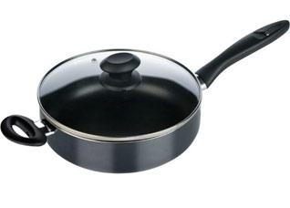 Сковорода глубокая Presto с крышкой 28 см, Tescoma 594128Варка и жарка<br><br>
