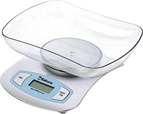 Весы кухонные Sakura SA-6052SВесы кухонные<br><br>