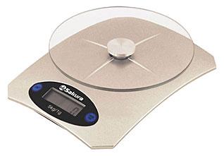 Весы кухонные Sakura SA-6055GВесы кухонные<br><br>