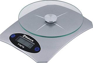 Весы кухонные Sakura SA-6055SВесы кухонные<br><br>